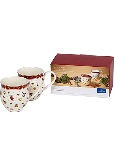 Villeroy and Boch Toy's Delight Set of 2 Mugs