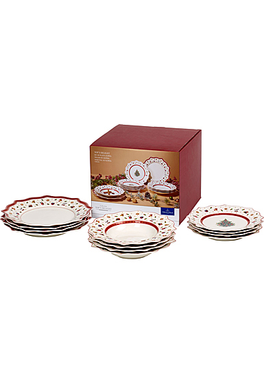Villeroy and Boch Toy's Delight 12 Plate Set