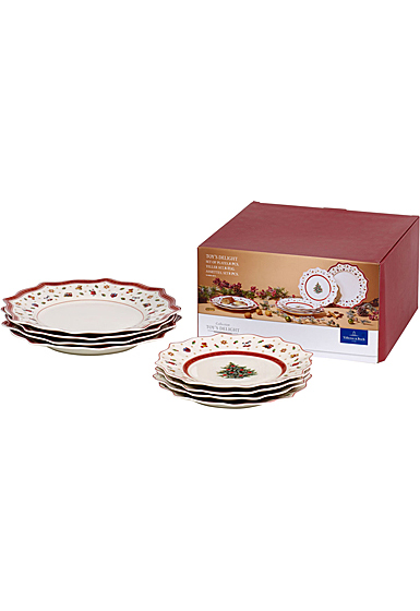 Villeroy and Boch Toy's Delight 8 Plate Set