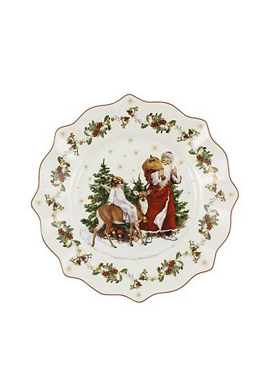 Villeroy and Boch 2020 Annual Christmas Edition Salad Plate, Single