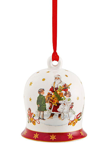 Villeroy and Boch Annual Christmas Edition Bell 2021 Ornament