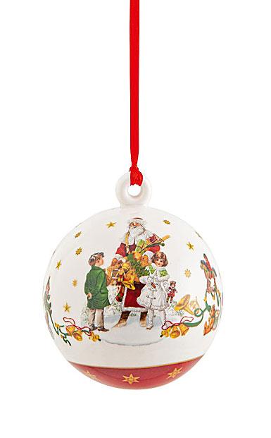 Villeroy and Boch Annual Christmas Edition 2021 Ball Ornament
