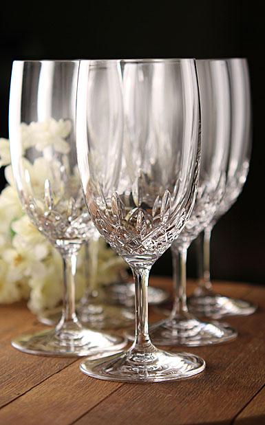 Waterford Crystal, Lismore Essence Crystal Iced Beverage Water Glass, Pair