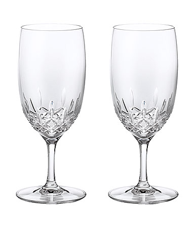 Waterford Crystal, Lismore Essence Crystal Iced Beverage Water Glass, Pair