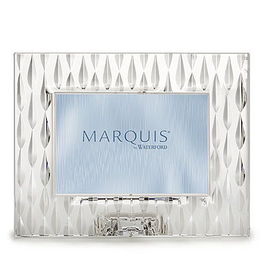 "Marquis by Waterford Crystal, Rainfall 4x6"" Picture Frame, Landscape"