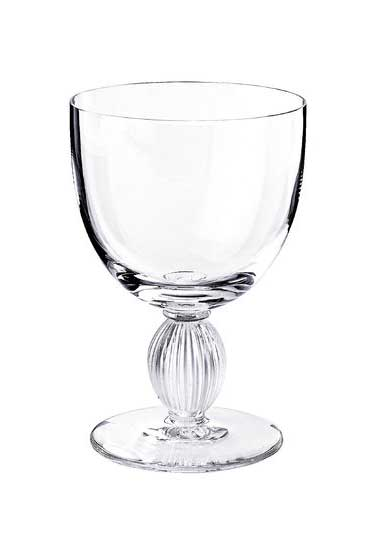 Lalique Crystal, Langeais Crystal Wine Glass No 4, Single