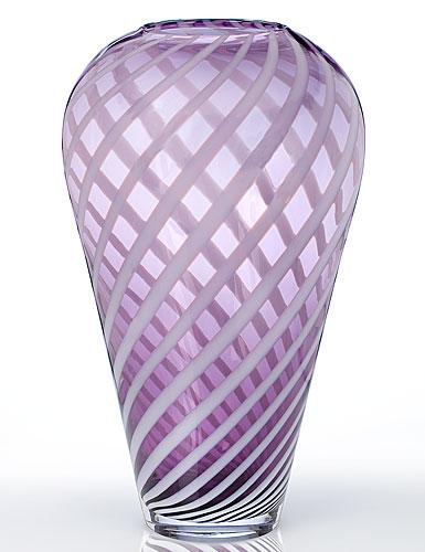 Waterford Evolution Urban Safari Striped Vase