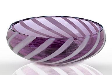 Waterford Evolution Urban Safari Striped Bowl