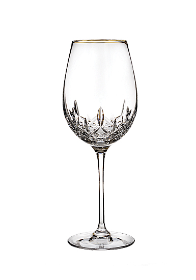 Waterford Lismore Essence Gold Goblet, Single