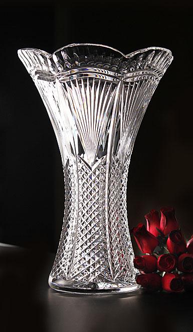 Waterford Designer Studio Matt Kehoe Peacock Vase