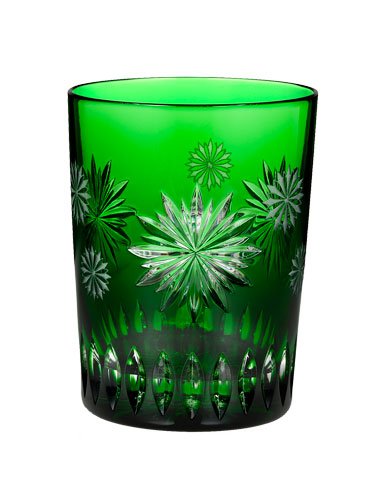 Waterford Snowflake Wishes Courage Prestige Edition, Emerald DOF 2012