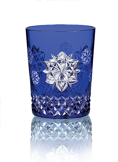 Waterford Crystal, Snowflake Wishes Friendship Cobalt DOF Tumbler, Single