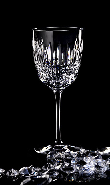 Waterford Lismore Diamond Goblet/Red Wine, Pair