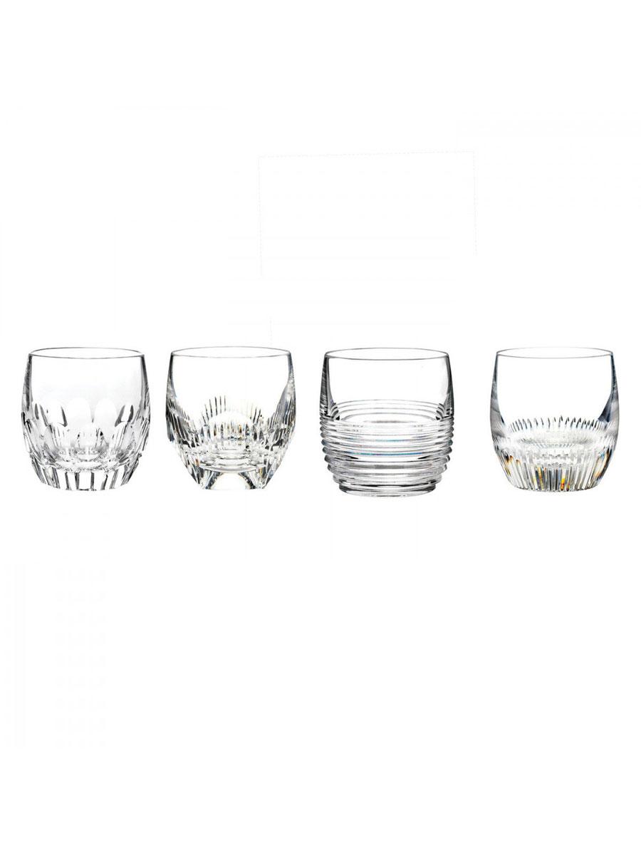 Waterford Mixology Rum OF Tumbler Set of Four, Argon, Circon, Neon and Talon