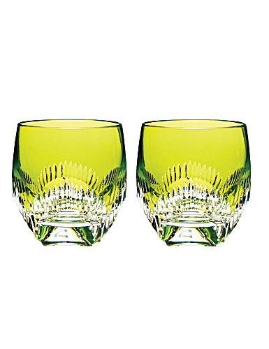 Waterford Mixology Neon Lime DOF, Pair