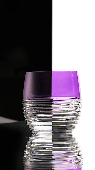 Waterford Mixology Circon Purple DOF, Pair