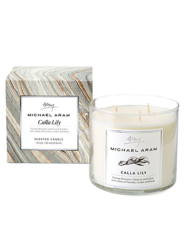 Michael Aram Calla Lily Scented Candle