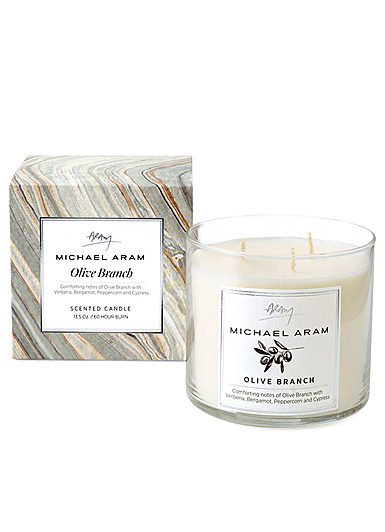 Michael Aram Olive Branch Scented Candle