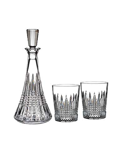 Waterford Crystal, Lismore Diamond Crystal Decanter and Crystal DOF Tumbler Pair Set