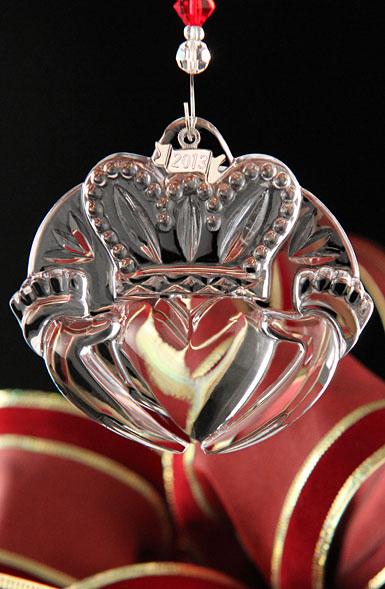 Waterford 2013 Claddagh Ornament