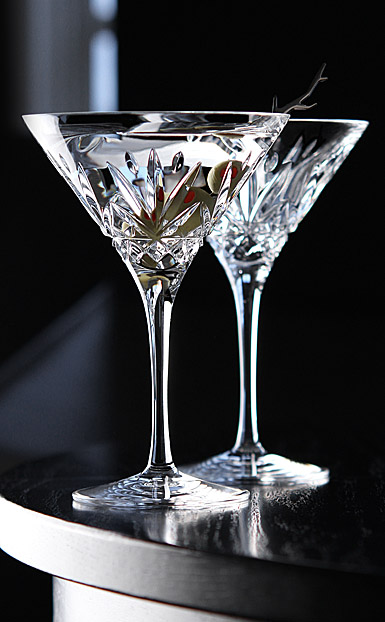 Cashs Annestown Martini Glasses, Pair