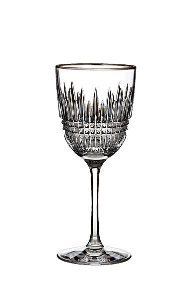 Waterford Lismore Diamond Platinum Wine, Single