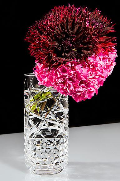 "Waterford Crystal, Jeff Leatham Fleurology Tina 16"" Crystal Vase"
