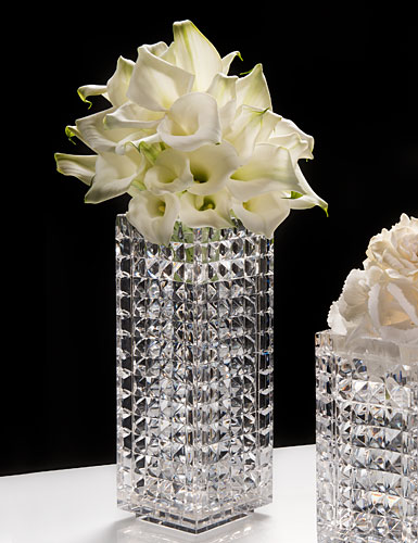 Waterford Crystal Jeff Leatham Fleurology Kylie 12 Crystal Vase