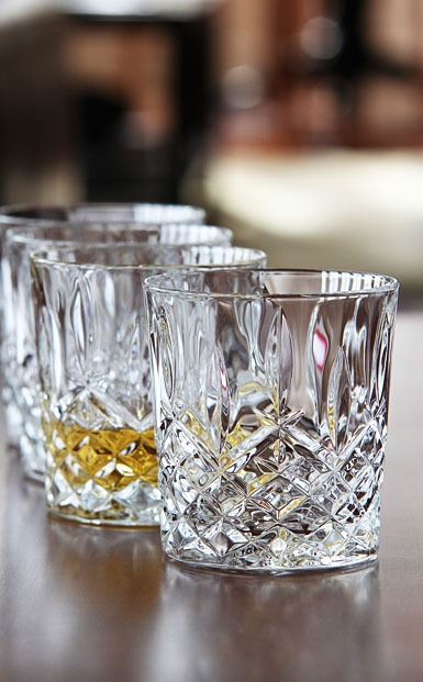 Marquis by Waterford Crystal, Markham Crystal DOF Tumbler, Set of Four