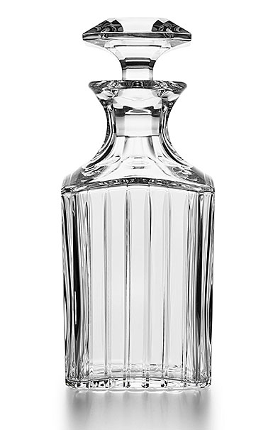 Baccarat Crystal, Harmonie Square Whiskey Crystal Decanter