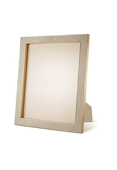 "Aerin Classic Shagreen Frame, Wheat 8x10"""