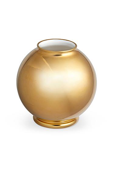 """Aerin Marion Gilded Round 6"""" Vase"""