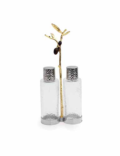 Michael Aram Olive Branch Cruet Caddy