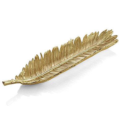 Michael Aram New Leaves Sago Palm Bread Plate