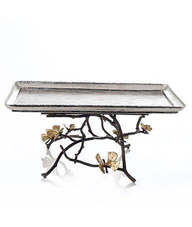 Michael Aram Butterfly Ginkgo Large Footed Centerpiece Tray