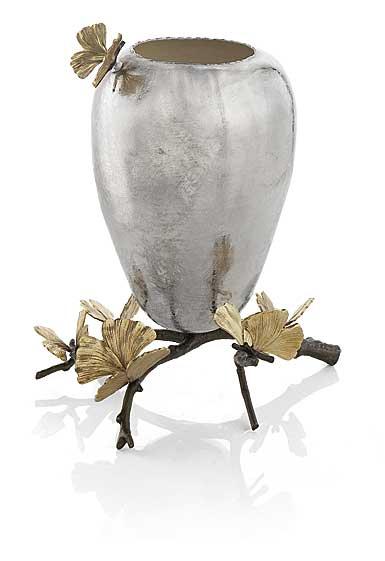 """Michael Aram Butterfly Ginkgo 13 1/2"""" Vase"""