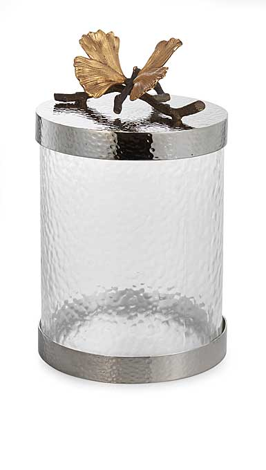 Michael Aram Butterfly Ginkgo Kitchen Canister, Small