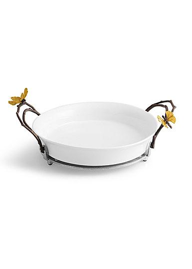 Michael Aram Butterfly Ginkgo Pie Dish