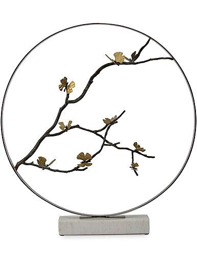 "Michael Aram Butterfly Ginkgo 32"" Moon Gate Sculpture, Limited Edition"