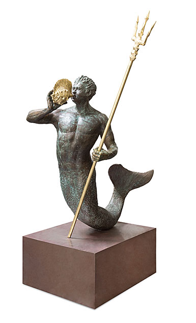 Michael Aram Triton Sculpture Limited Edition of 30
