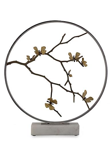 "Michael Aram Butterfly Ginkgo 22"" Moon Gate Sculpture, Limited Edition"