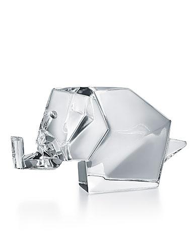 Baccarat Origami Elephant