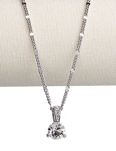 black w majesty necklace p today off diamonds round solitaire diamond