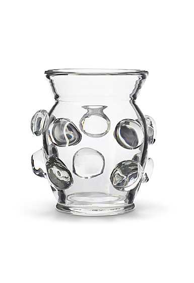 "Aerin Abel 7"" Vase, Clear"