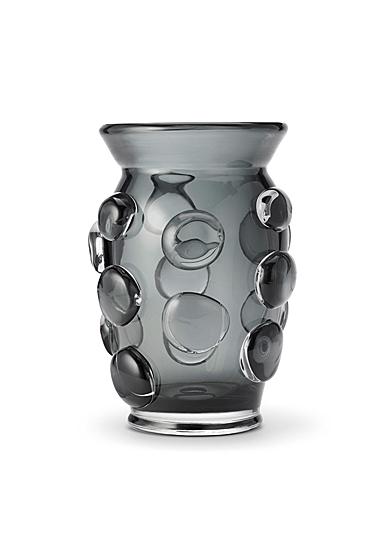 """Aerin Abel 9"""" Vase, Ink"""