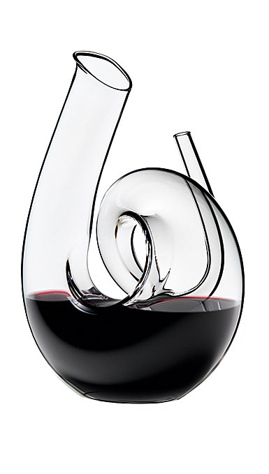 Riedel Curly Clear Crystal Wine Decanter