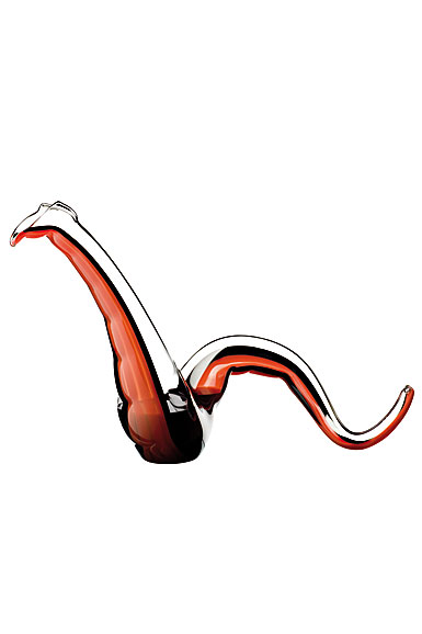 Riedel Twenty Twelve Red and Black Dragon Decanter