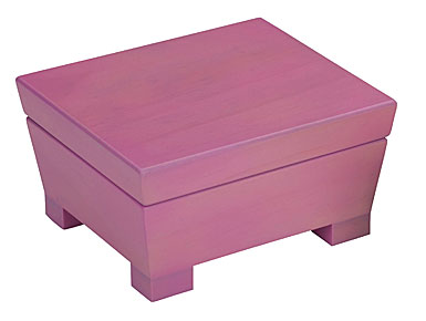 Reed & Barton Anna, Pink Jewelry Chest