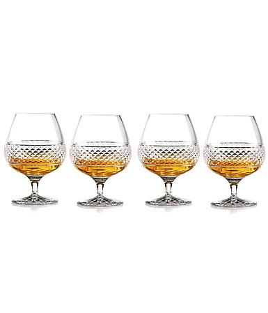 Cashs Ireland, Cooper Large Brandy, Cognac Glasses, Set of 4