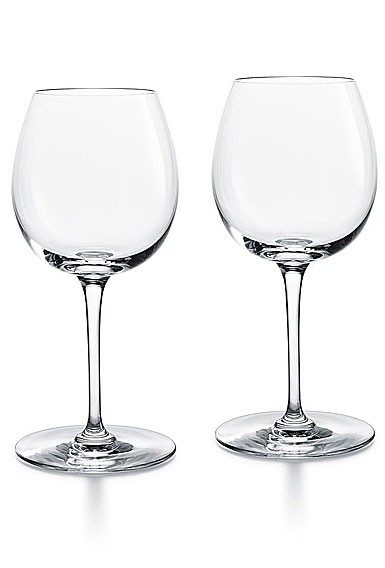 Baccarat Crystal, Oenologie Red Burgundy Glasses, Pair